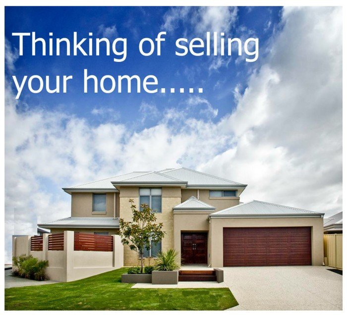 Selling Home: Thinking Of Selling Your Home.....