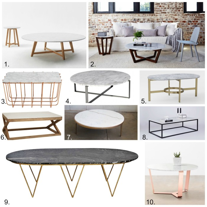 Marble Coffee Table Australia: Marble Coffee Tables, Shop My Links.